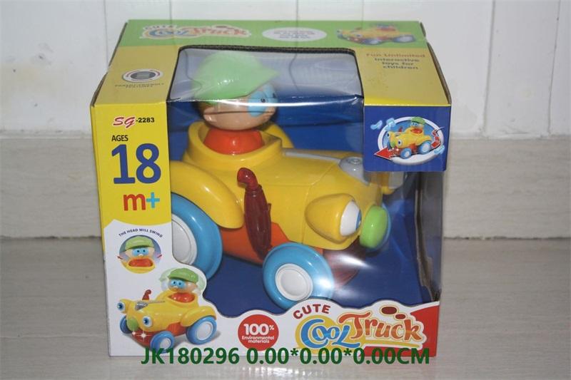 Electric cartoon farmer car with light and music  No.JK180296