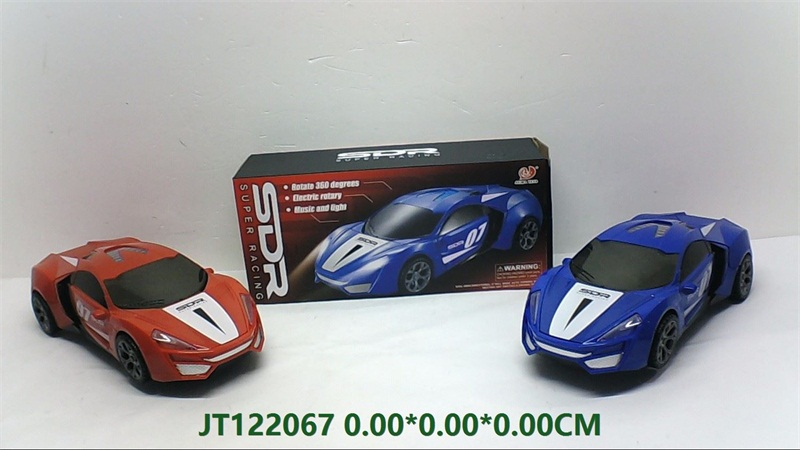 Electric universal car with lights and music  No.JT122067