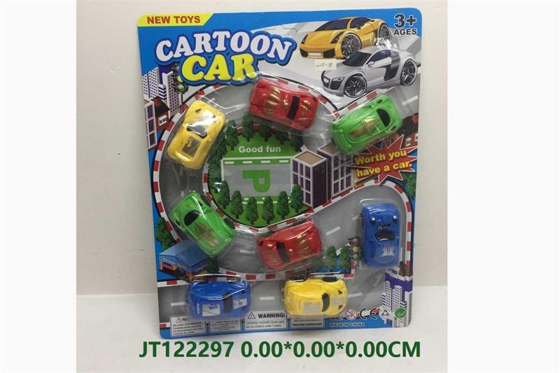 Cartoon mini car toy  No.JT122297