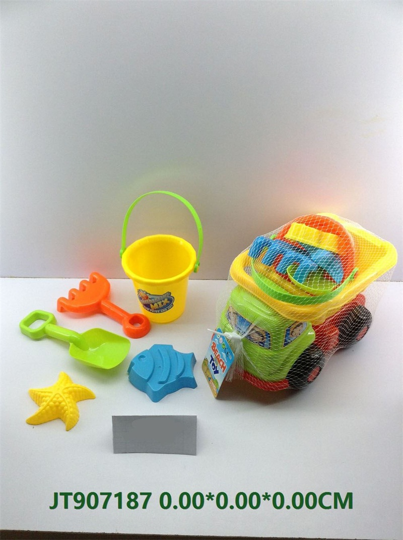 Beach toys set-6pcs   No.JT907187