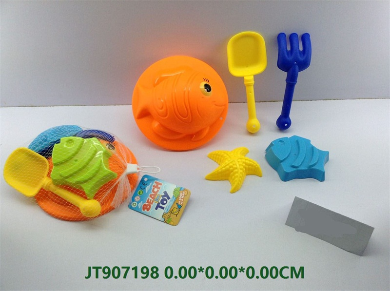 Beach toys set-5pcs   No.JT907198