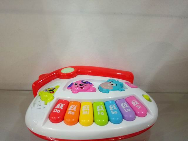 For kids house animal piano English learning machine educational toy No.:HJ-8032A