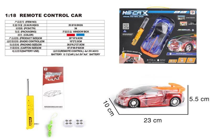 1:18 4 channel remote control RC car toys No.TA258414