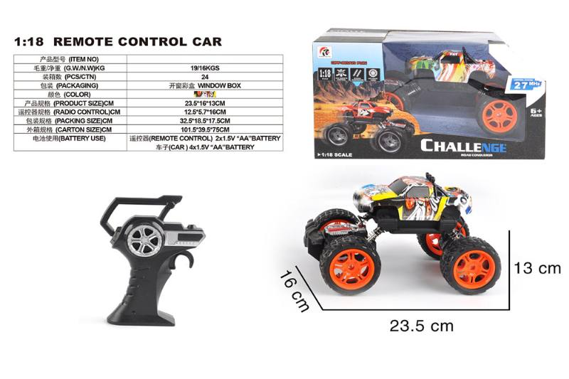 1:18 4 channel remote control RC car toys No.TA258422