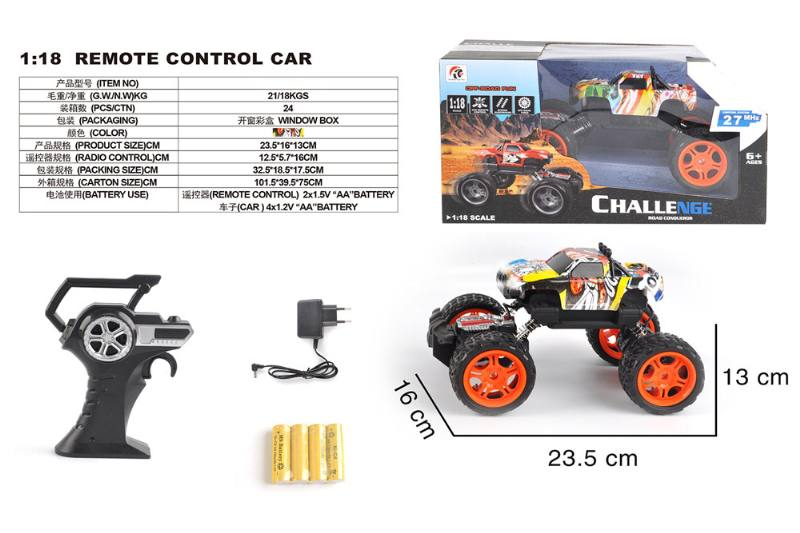 1:18 4 channel remote control RC car toys(included battery) No.TA258423