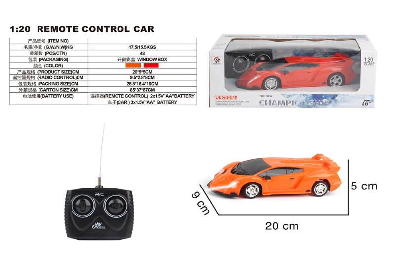 1:20 4 channel remote control RC car toys No.TA258428