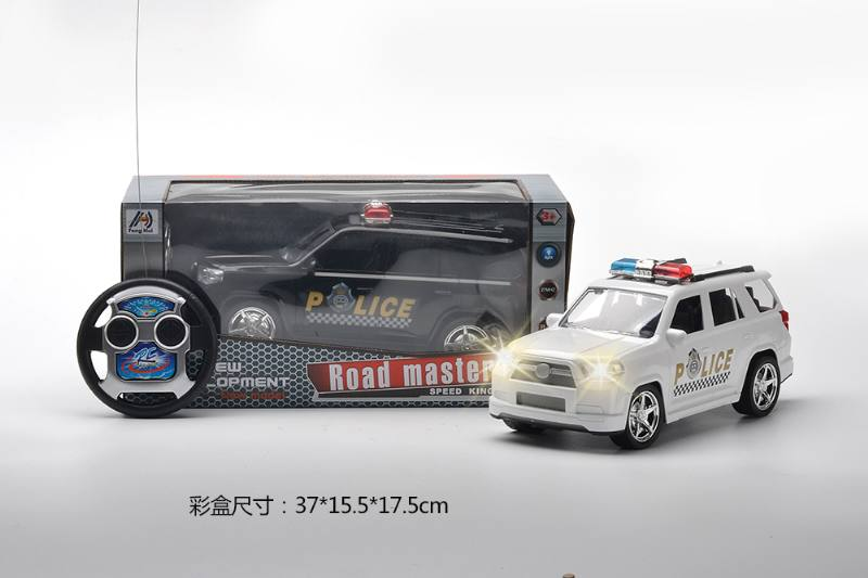 1:14 RC remote control police car with lights inlucded battery No.TA259966