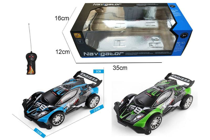 1:16 2 channel RC remote control car high-speed off-road vehicle with lights No.TA260092