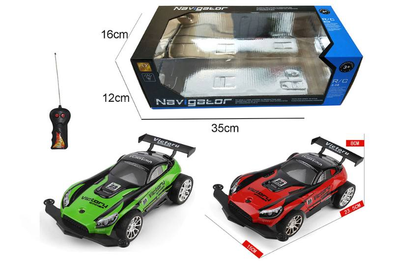 1:16 2 channel RC remote control car high-speed off-road vehicle with lights No.TA260095