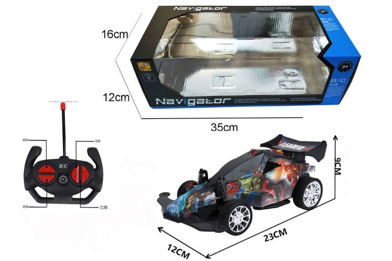 1:16 4 channel RC remote control car four-wheel drive with lights No.TA260098