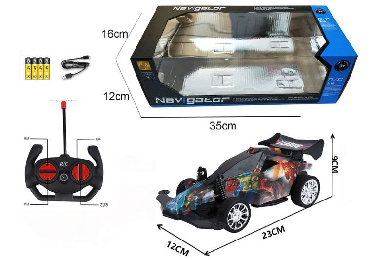 1:16 4 channel RC remote control car four-wheel drive with lights No.TA260099