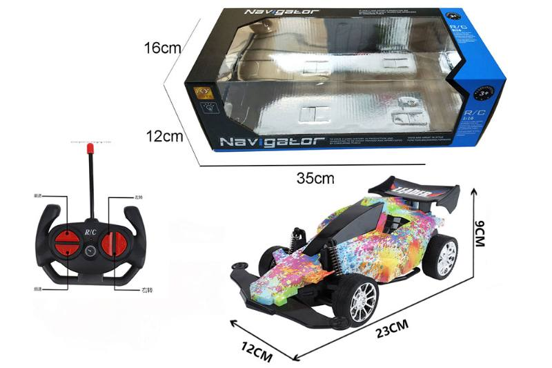 1:16 4 channel RC remote control car four-wheel drive with lights No.TA260100