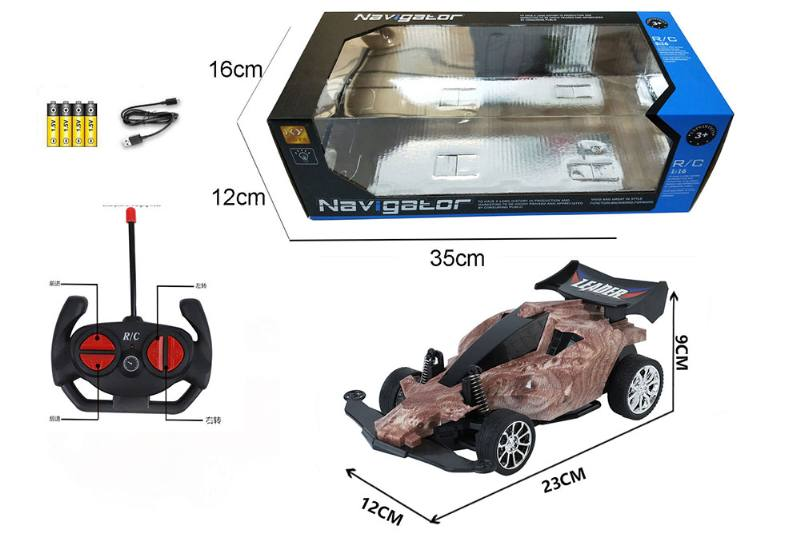 1:16 4 channel RC remote control car four-wheel drive with lights No.TA260103