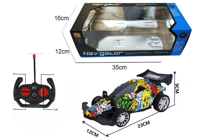 1:16 4 channel RC remote control car four-wheel drive with lights No.TA260104