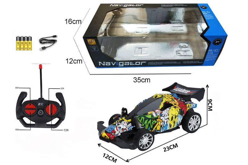 1:16 4 channel RC remote control car four-wheel drive with lights No.TA260105