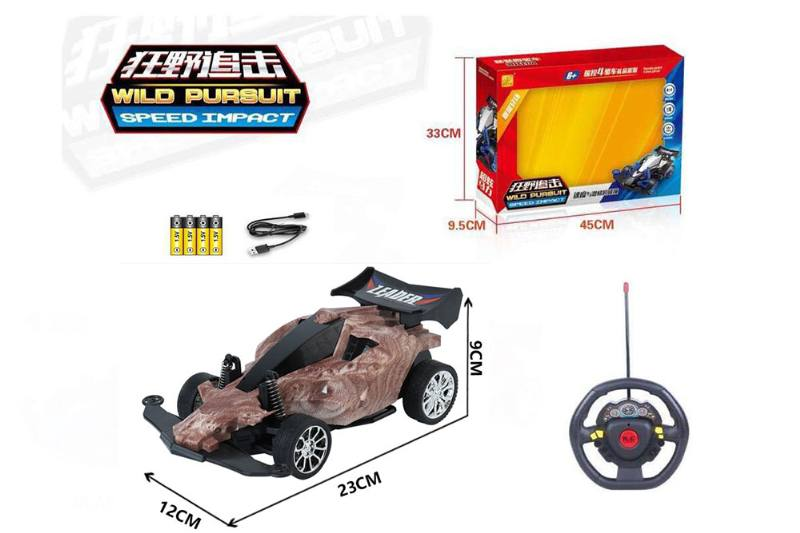 1:16 4 channel RC remote control car steering wheel with lights included battery No.TA260117
