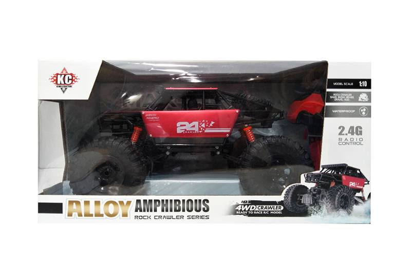 1:10 2.4G Four-wheel drive RC remote control off-road climbing car with battery