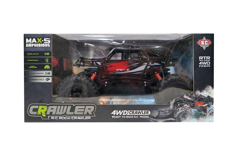1:10 2.4G Four-wheel drive RC remote control waterproof off-road climbing car wi