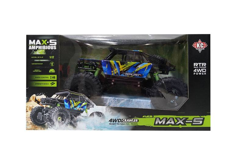 1:12 2.4G Four-wheel drive RC remote control waterproof off-road climbing car wi