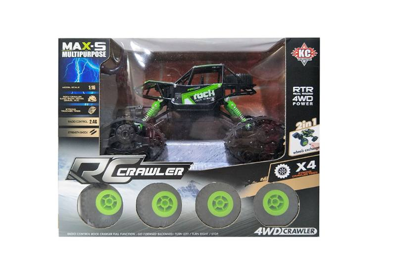 1:16 2.4G Four-wheel drive RC remote control snow climbing car with battery and