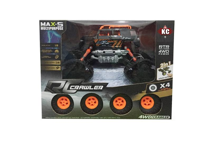 1:16 2.4G Four-wheel drive RC remote control off-road climbing car with battery