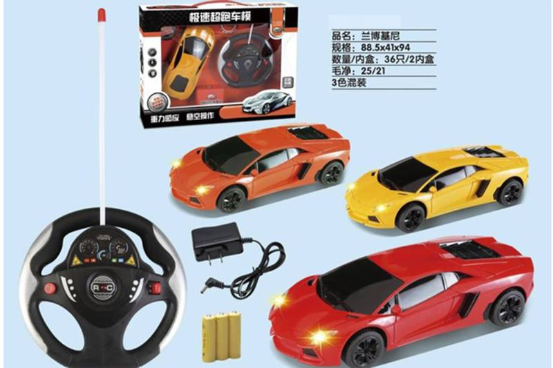 Remote control toy car Lamborghini (steering wheel) No.TA254907