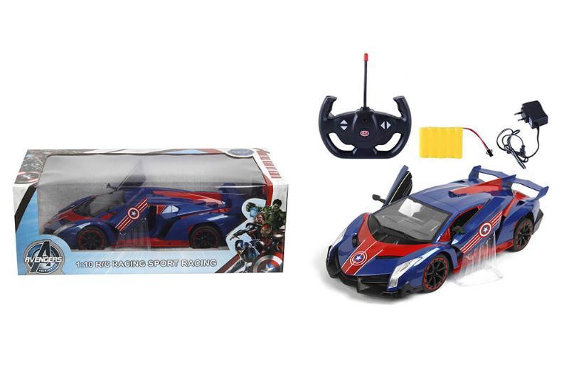 1:10 5-way door remote control car (Bugatti. Convertible) Captain America NO.TA262165