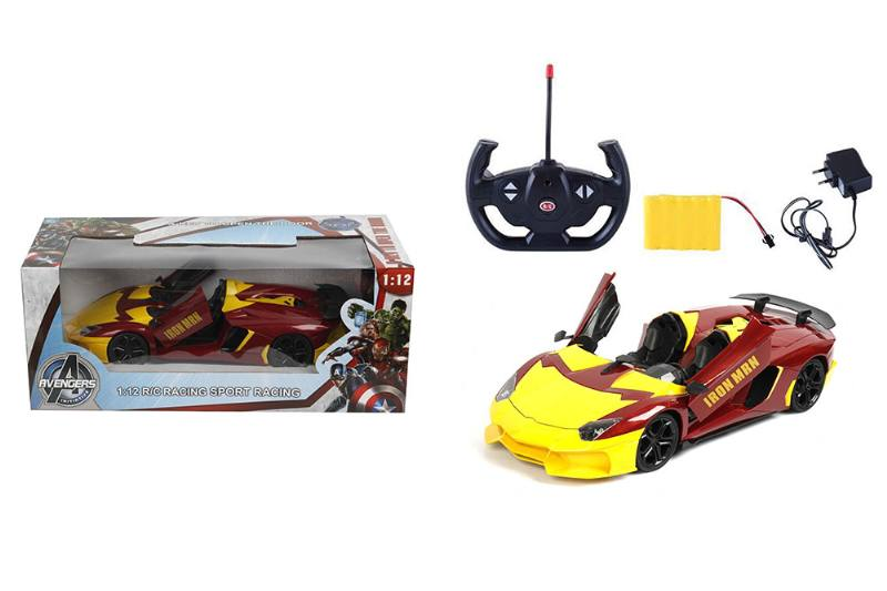 1:12 5-way door remote control car (Lamborghini. Convertible) Iron Man NO.TA262168