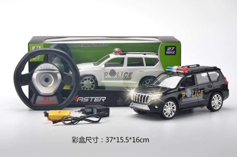 1:16 gravity induction four-way remote control police car (included battery) NO.TA262963