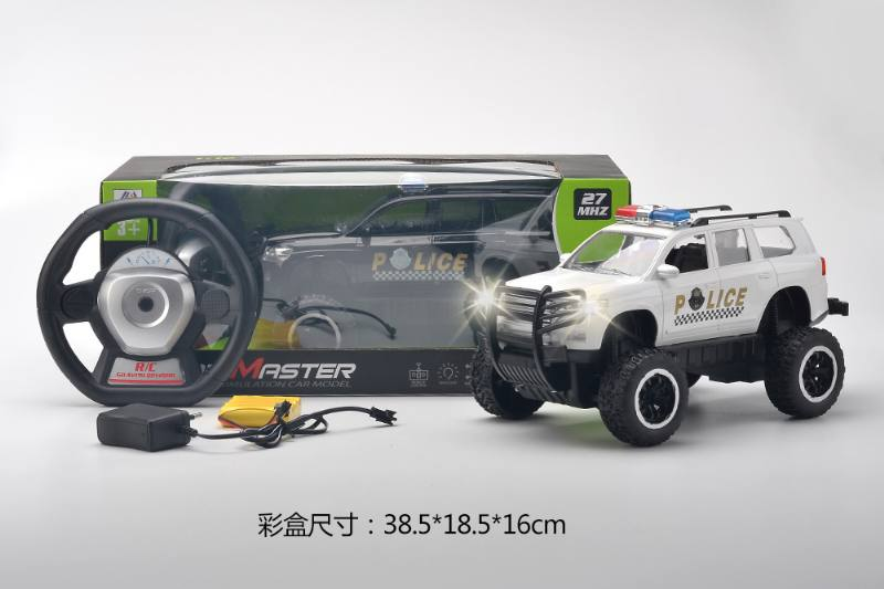 1:12 gravity induction four-way remote control police car (included battery) NO.TA262965
