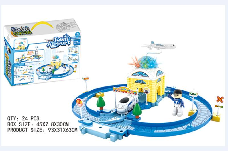 Train Track Railway Toys aviation airport orbit No.TA255161