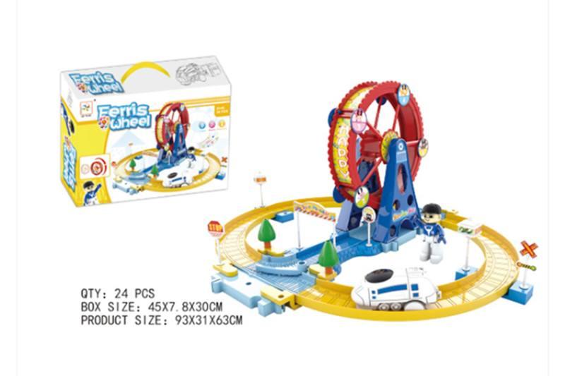Train Track Railway Toys happy ferris wheel track No.TA255162