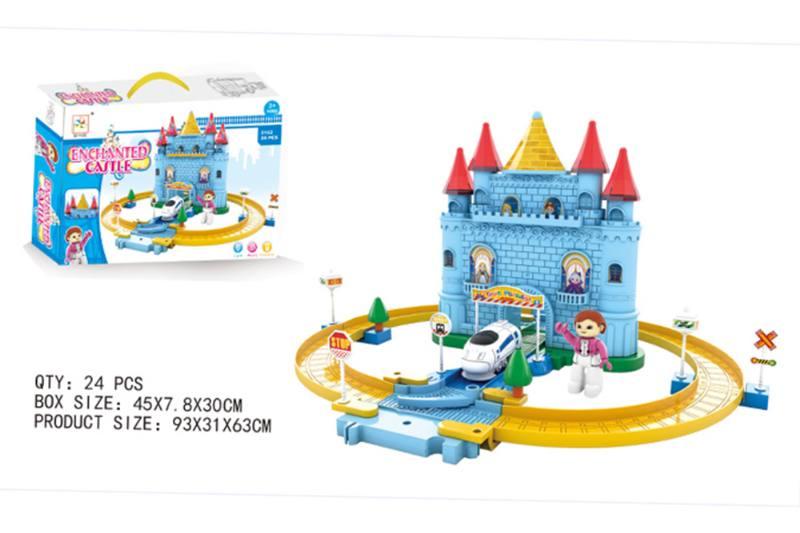 Train Track Railway Toys Dream Castle orbit No.TA255164