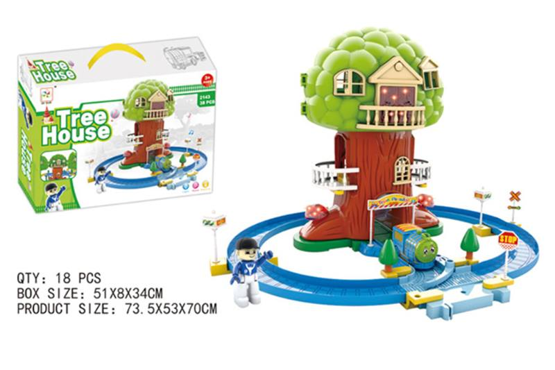 Train Track Railway Toys dream tree house track No.TA255165