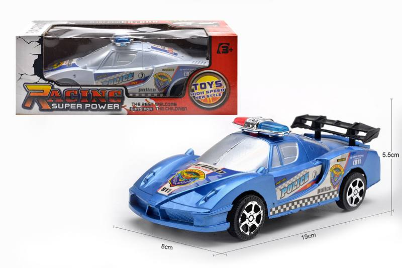 Inertial toy car model friction police car toys No.TA254595
