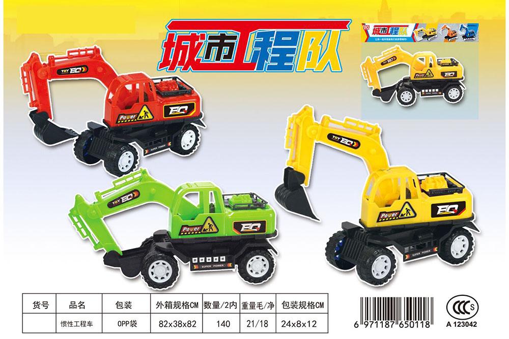 Friction car toys inertia truckNo.TA255987