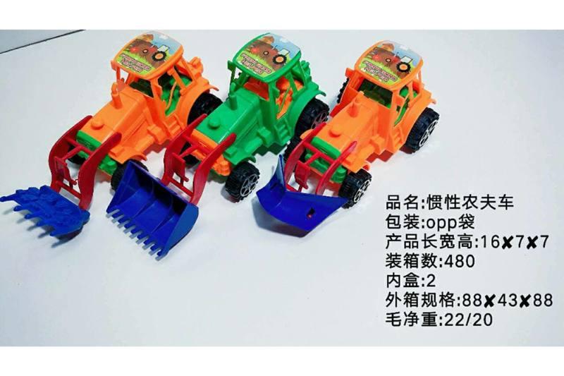 Inertia car toy inertia farmer car No.TA258553