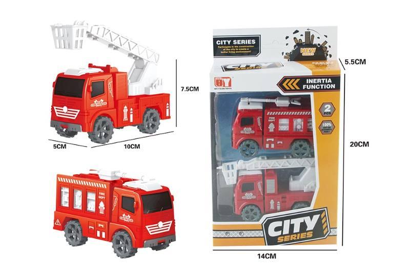 Friction toy Inertia car set No.TA260405