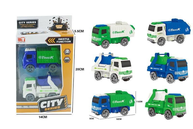 Friction toy Inertia car set No.TA260406