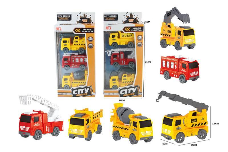 Friction toy Inertia car set No.TA260410