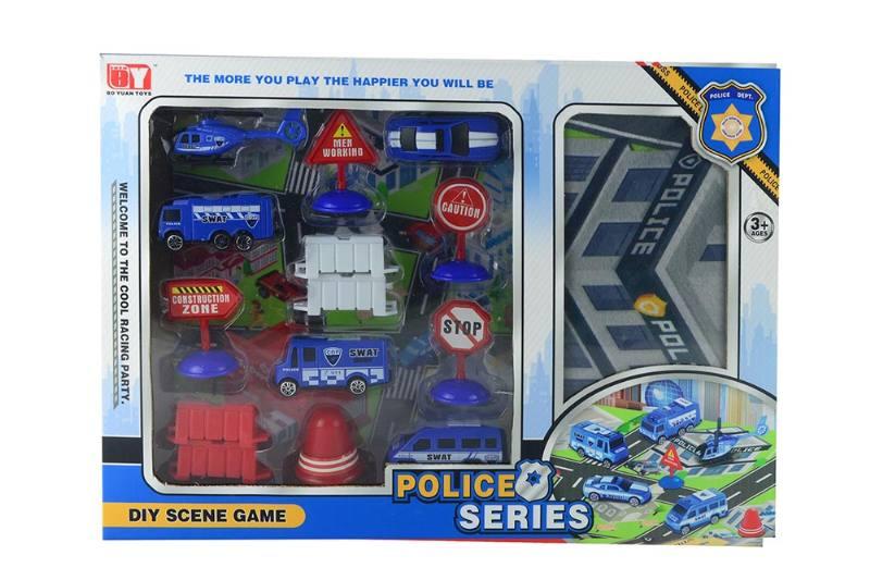 Friction toy Inertia car set No.TA260420