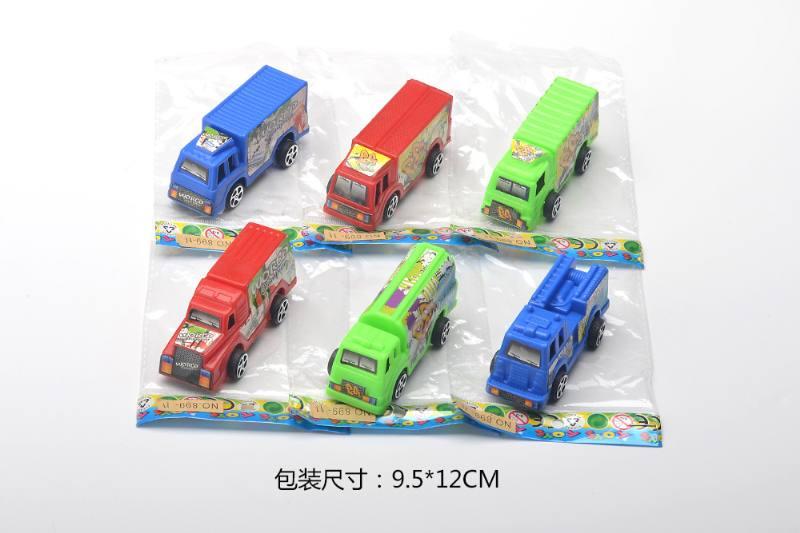 Graffiti pull back container truck NO.TA262868