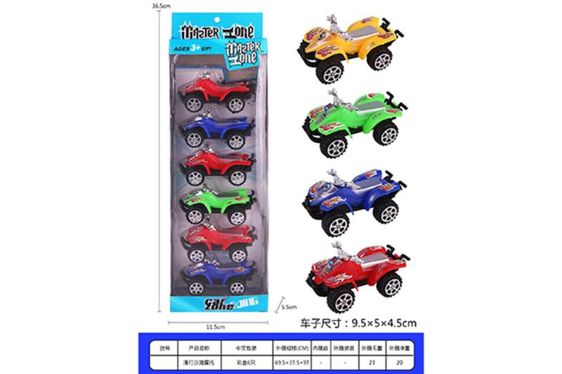 Pull back toy car Pull back off-road beach motorcycle No.TA257990