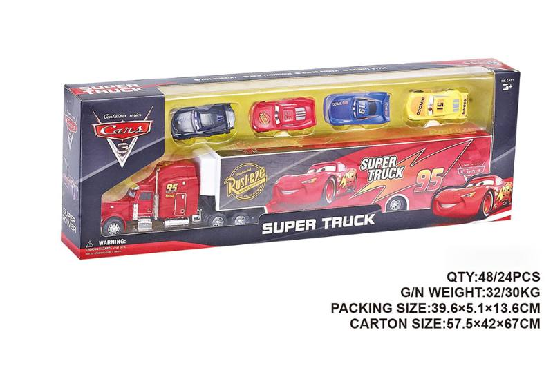 Car mobilization container trailer toy car NO.TA262558