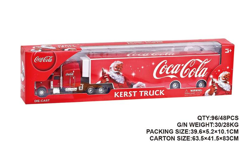 American Sliding Coke Container Truck Sliding Toy Car NO.TA262560