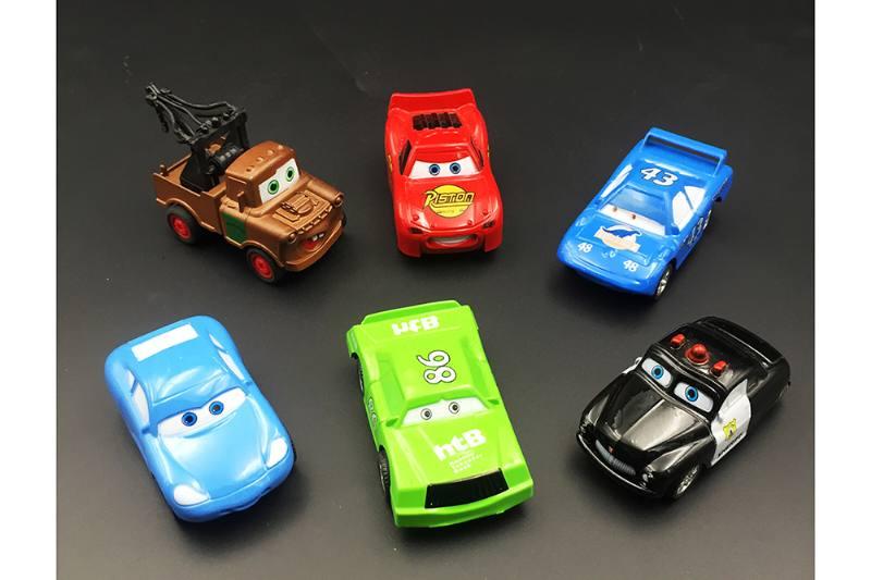 Alloy toy Sliding car mobilization alloy car (6 mixed) No.TA254722