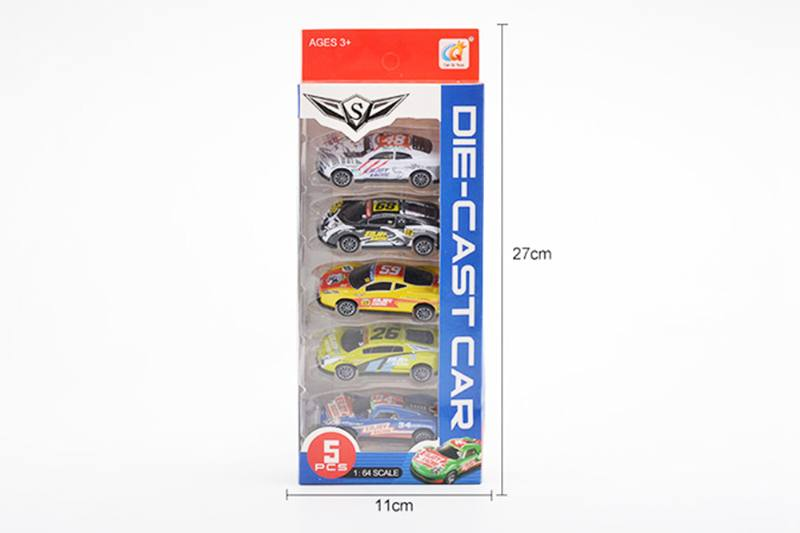 Alloy pull back toy car 1:64 pull back alloy car No.TA255268