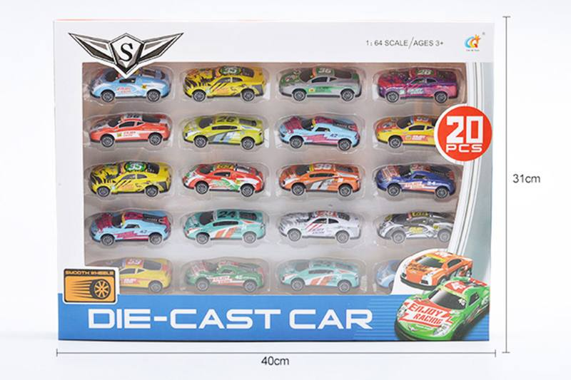 Alloy pull back toy car 1:64 pull back alloy car No.TA255270