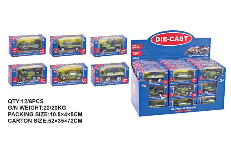1:64 alloy military car alloy toy car NO.TA262484