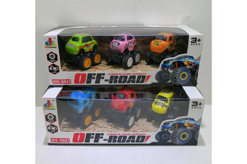 Alloy Q version inertia big wheeler alloy toy car NO.TA262599